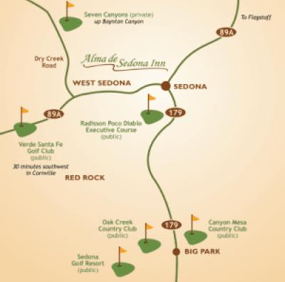 Area Info, Alma de Sedona Inn